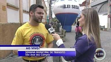 São José prepara programação para alertar sobre os riscos de beber e dirigir - Evento faz parte da semana nacional de trânsito.