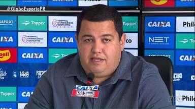 """Paraná Clube faz reformulação no futebol - Demissão do executivo Rodrigo Pastana e de quatro integrantes da comissão técnica """"chacoalham"""" o Tricolor"""