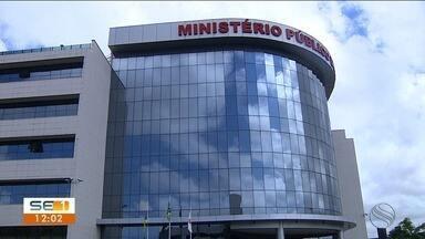 Representantes do MP falam sobre operação contra suspeitos de fraude em licitação - Investigação apurou prejuízo de R$ 3 milhões em Aquidabã.