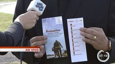 Movimento de romeiros pela Dutra começa a aumentar - Concessionária que administra rodovia faz campanha de orientação.
