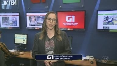 Carol Andrade traz os destaques do G1 Sorocaba e Jundiaí nesta quinta-feira - Carol Andrade traz os destaques do G1 Sorocaba e Jundiaí nesta quinta-feira (20).