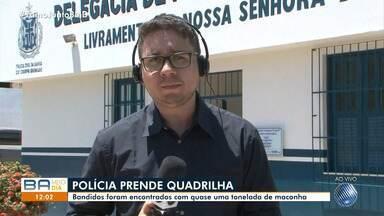 Sudoeste: bandidos são encontrados com quase uma tonelada de maconha - Caso aconteceu na cidade de Livramento de Nossa Senhora; confira.