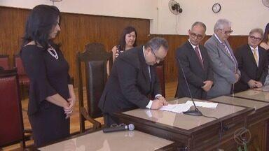 Assinado contrato para construção de novo Fórum em Juiz de Fora - Projeto está orçado em R$ 65.912.959,30. Assinatura ocorreu em cerimônia nesta quinta (20).