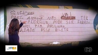 Veja o que é destaque no Globo Esporte desta quinta-feira (20) - Entre os principais assuntos está a história do menino que deu origem ao meme 'é verdade esse bilete'.