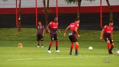 Após duas derrotas seguidas, Atlético-GO tem 10 dias para treinar - Dragão só volta a campo no fim da próxima semana, contra o Figueirense