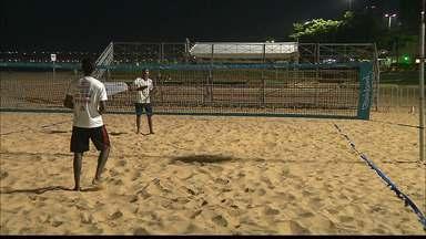 Etapa do Mundial de Beach Tennis vai agitar a orla de João Pessoa no fim de semana - Competição começa nesta sexta-feira e vai até o domingo