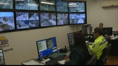 Programa João Pessoa Segura vai usar câmeras de trânsito para monitoramento - O sistema de monitoramento será ampliado.