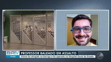 Professor é baleado após sair do trabalho no bairro do Rio Vermelho, em Salvador - As testemunhas que estavam no local informaram que ele tinha reagido durante o assalto.