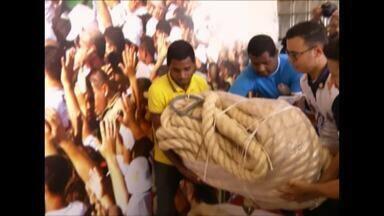 """Guarda de Nazaré intensifica a campanha """"não corte a corda"""" - O objetivo é antecipar o corte antecipado da corda do Círio"""