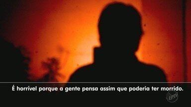 Vítima de assalto tem braço quebrado por ladrões em Ribeirão Preto, SP - Casal foi rendido quando voltava de passeio.