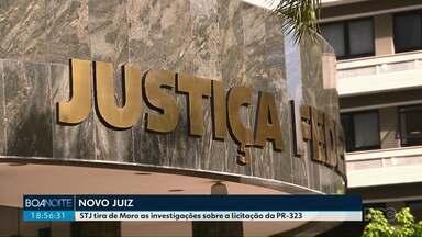 STJ define juiz que vai substituir Moro na investigação que tem como alvo o ex-governador - Paulo Sérgio Ribeiro, da 23ª Vara Federal Criminal de Curitiba, vai assumir procedimento que apura suposta fraude na licitação da PR-323.