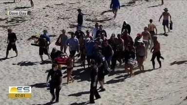 Traslado de corpo de capixaba de morreu nos EUA será feito por helicóptero da PM - Corpo de Arthur Medici deve chegar o Espírito Santo na tarde de sexta-feira (21). Jovem foi atacado por tubarão quando praticava body board em uma praia em Cape Cod, Massachusetts.
