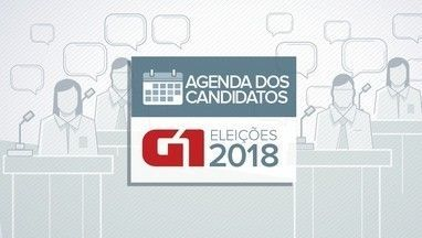 Veja a agenda dos candidatos ao governo da Paraíba nesta sexta-feira (21) - Agenda dos candidatos eleições 2018.