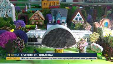 Curitiba recebe o Congresso Nacional de Biscoitos Confeitados - Uma maquete da cidade foi feita só com biscoitos.