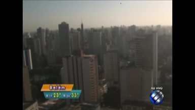 Confira a previsão do tempo em Belém e no interior do estado nesta sexta-feira, 21 - Previsão.