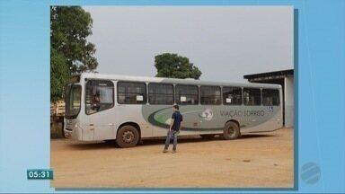 Ônibus do transporte coletivo de Sorriso é apreendido - Ônibus do transporte coletivo de Sorriso é apreendido