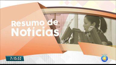 Confira o Resumo das Notícias do Bom Dia Paraíba nesta sexta-feira - Veja as principais notícias de hoje.