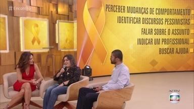 Terezinha e Joseval criaram grupo de apoio à famílias após suicídio da filha - Saiba como identificar os sinais de alerta para ajudar as pessoas com depressão e prevenir o suicídio