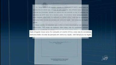 Secretaria de Saúde divulga nota sobre abuso de jumento por funcionários de Zoonoses - Saiba mais em g1.com.br/ce
