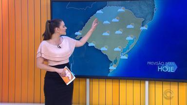Tempo: sol predomina e temperaturas chegam aos 31ºC nesta sexta-feira no RS - Assista ao vídeo.
