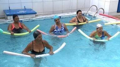 Conheça turma de idosos que realiza atividades físicas para melhorar a qualidade de vida - Confira a última reportagem da série sobre idosos.