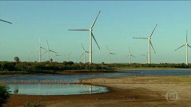 Rio Grande do Norte vai ter torre de energia eólica no mar em quatro anos, no máximo - No Brasil, os ventos em terra são considerados os melhores do mundo. Agora, o país se prepara para explorar também os ventos no mar.