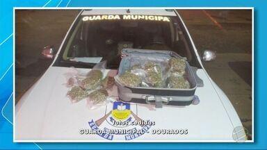 Paraguaio é preso com sete quilos de skunk - Homem disse que pegou a droga no Paraguai e a levaria até Campo Grande.