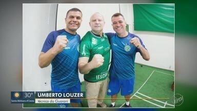 Guarani recebe visita do 'capitão Nascimento' da vida real - Paulo Storani, ex-capitão do Bope e uma das inspirações do diretor dos filmes 'Tropa de Elite', conversou com elenco bugrino na véspera de duelo com CSA pela Série B.