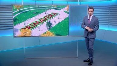 Primavera chega na noite deste sábado (22) - A meteorologia do Jornal Nacional mostrou como será a primavera em todas as regiões do país. A nova estação começou perto das onze da noite, hora de Brasília