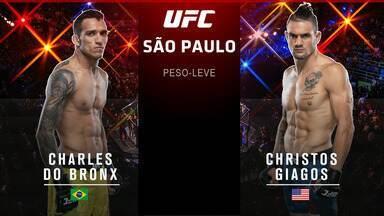 """Charles """"Do Bronx"""" Oliveira x Christos Giagos"""