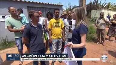 MG Móvel volta a Mateus Leme para conferir obra prometida pela prefeitura - Equipe esteve lá em maio e mostrou as péssimas condições de uma rua no bairro Planalto.