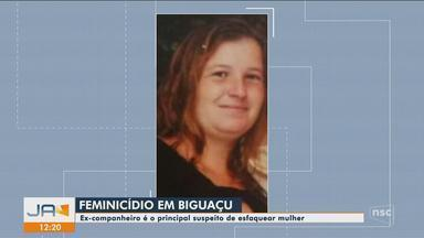 Homem mata ex-companheira e fere criança em Biguaçu, diz polícia - Homem mata ex-companheira e fere criança em Biguaçu, diz polícia