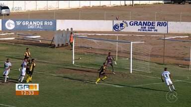 Petrolina vence o Serrano e se classifica para a segunda fase da Série A2 do Pernambucano - O Serrano está eliminado.