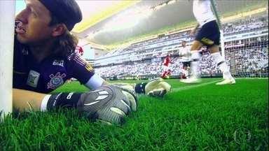 Corinthians empata com o Internacional em casa - Corinthians empata com o Internacional em casa