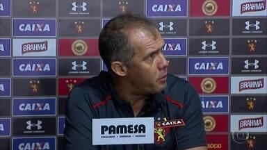 Sport perde mais uma na Série A, dessa vez para o Palmeiras, na Ilha do Retiro - Paulistas venceram por 1 a 0 com gol no fim do segundo tempo