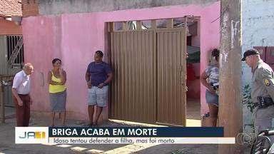 Idoso morre após pancada na cabeça ao tentar defender filha de agressões do ex, em Goiás - Caso ocorreu em Goiânia. Vítima de 66 anos deve ser enterrada nesta segunda-feira.