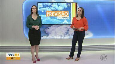 Confira a previsão do tempo em São Carlos e região para esta segunda (24) - Confira a previsão do tempo em São Carlos e região para esta segunda (24).