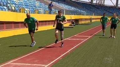 Festival de esporte paralímpico reúne atletas em Goiânia - Praticantes de várias modalidades participam de evento no Olímpico