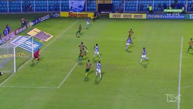 De virada, Sampaio perde para o Avaí na Ressacada - Tricolor perde e fica na lanterna da Série B