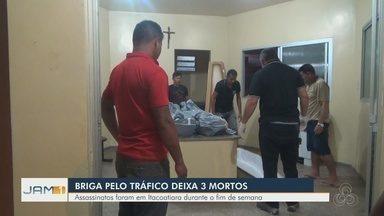 Suposta briga pelo tráfico deixa 3 mortos em Itacoatiara, no AM - Um adolescente estava entre as vítimas.