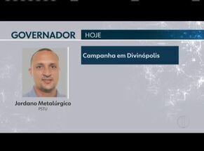 Veja os compromissos de campanha de candidatos ao governo de Minas - Jordano Metarlúgico (PSTU) faz campanha em Divinópolis.