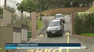 Justiça mantém prisões preventivas na Operação Piloto - Decisão foi publicada nesta segunda feira.
