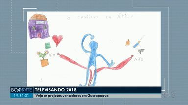 Veja os vencedores do concurso cultural Televisando - O tema deste ano foi: Ética: vamos juntos fazer um mundo melhor?