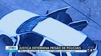 Justiça determina prisão de PMs investigados por matar refém e alterar cena de crime - Caso correu em Senador Canedo após vítima ter sido rendida por assaltante.