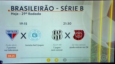 Confira os jogos da 29ª rodada da Série B do Brasileirão - O Fortaleza vai enfrentar o São Bento nesta terça-feira (25).