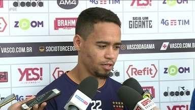 Vasco se prepara para encarar o Santos em jogo adiado do Brasileirão - Vasco se prepara para encarar o Santos em jogo adiado do Brasileirão