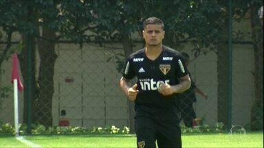 São Paulo sente falta de Everton em campo no Brasileiro - São Paulo sente falta de Everton em campo no Brasileiro
