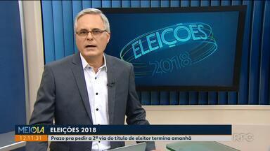 Confira os compromissos dos candidatos ao governo do Paraná nesta quarta-feira (26) - O primeiro turno das eleições será no dia 7 de outubro.