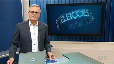 Veja a agenda dos candidatos ao Governo do Paraná - Compromissos de campanha nesta quarta-feira (26).