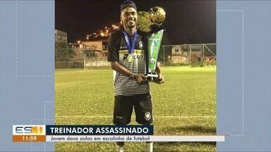 Treinador e futebol é morto a tiros ao sair de sorveteria em Cariacica, no ES - Ele tinha 21 anos. Caso é investigado.